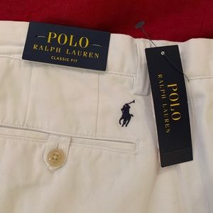 Polo Classic White Chinos